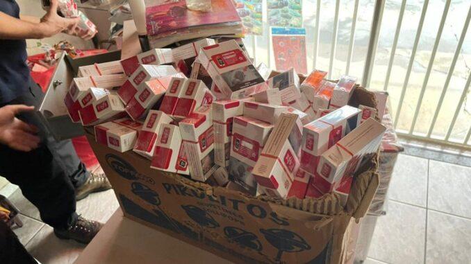 PF e Receita Federal realizam operação de combate ao contrabando de cigarros na região de Botucatu